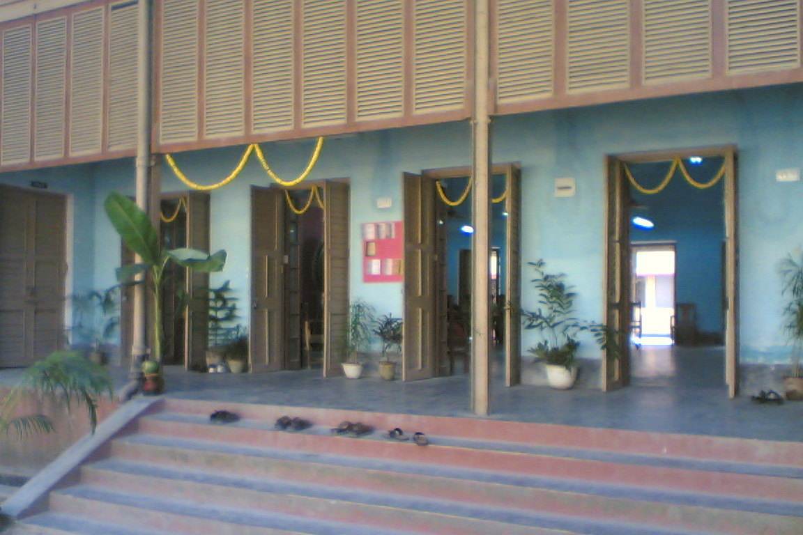 Centenary hall during Saraswati Puja
